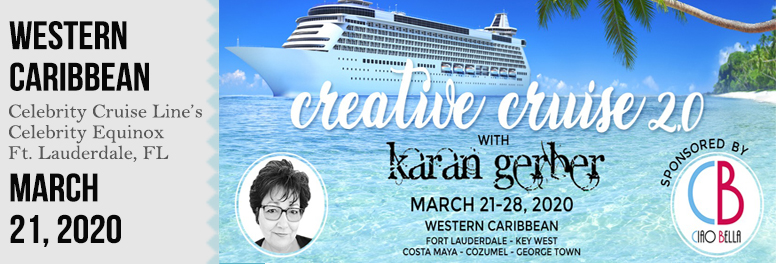 Karan Gerber Creative Cruise 2.0 - March 2020