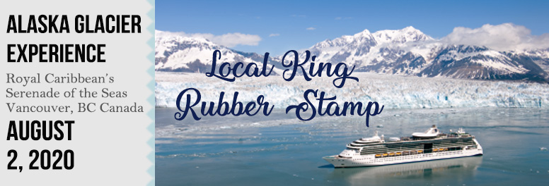 Local King Rubber Stamp - August 2020