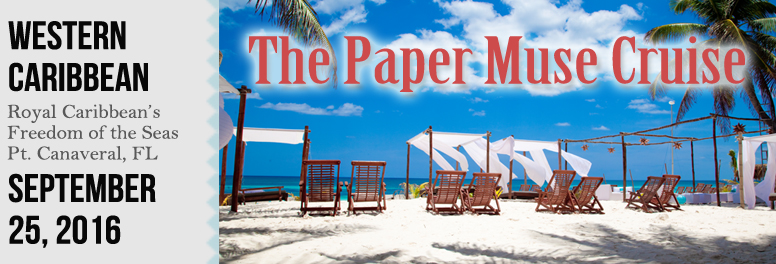 The Paper Muse Cruise - September 2016
