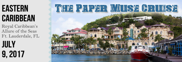 The Paper Muse Cruise - July 2017