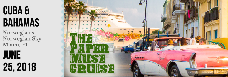 The Paper Muse Cruise - June 2018