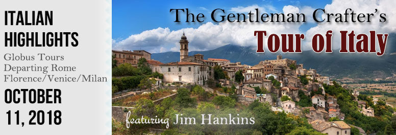 The Gentleman Crafter's Tour of Italy - October 2018